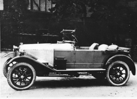 1921 ABC Cloverleaf Three Seater