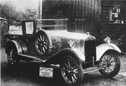 1921 ABC Four Seater Compton Hermon